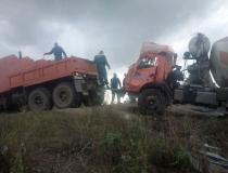 Эвакуация бетономиксера